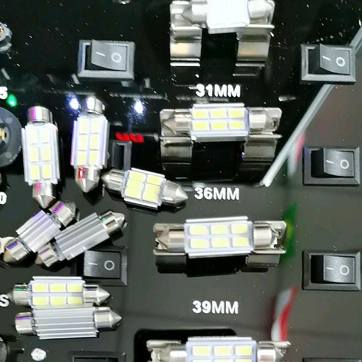רכב Led פנים אור לויה הנורה 6SMD 5630 36MM 39MM 41MM