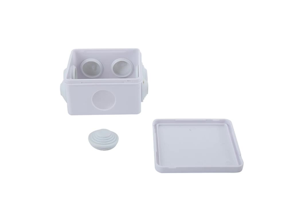 IP65 ABS PVC plastic enclosure electronic waterproof electric control panel  junction box