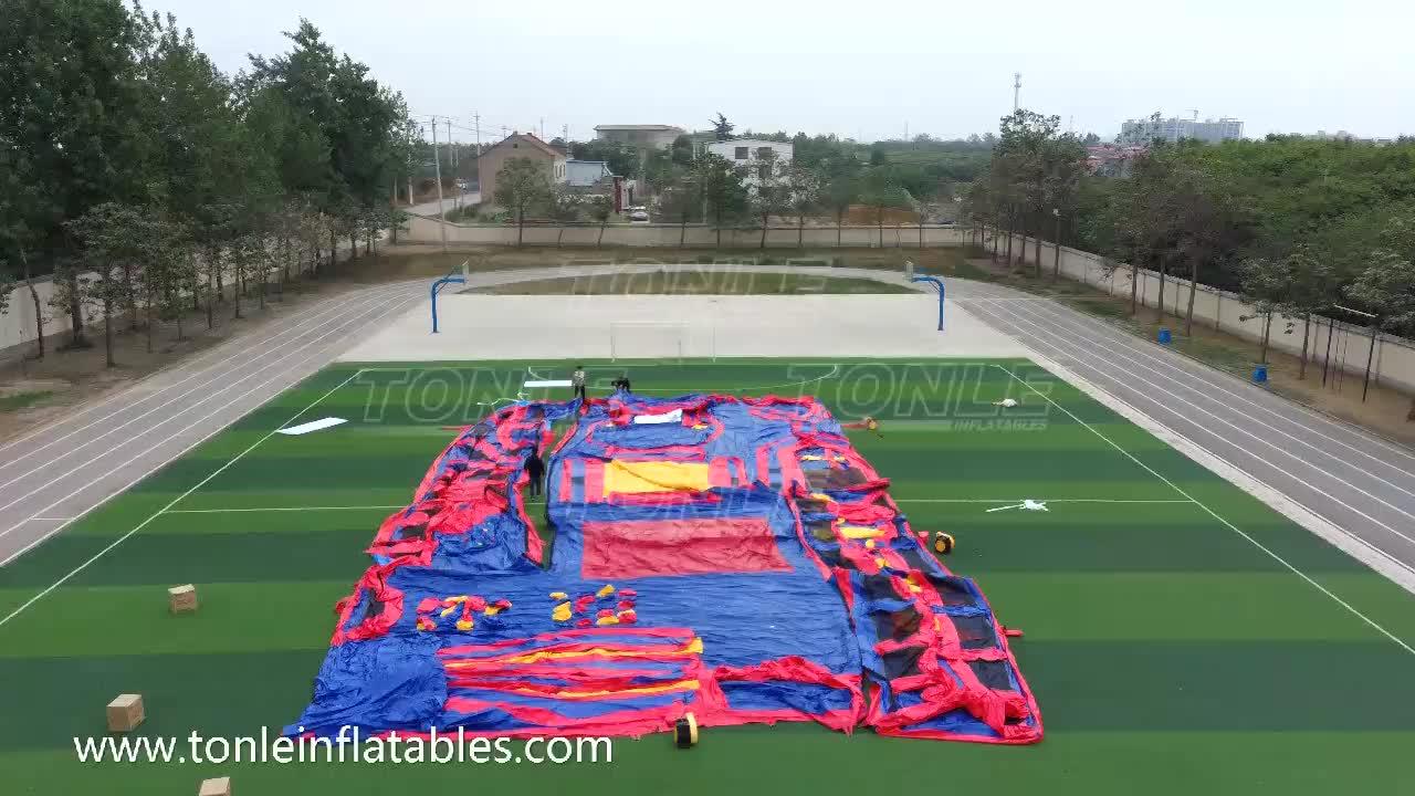 China custom fábrica parque temático inflável/ao ar livre indoor parque de jogos infláveis para adulto