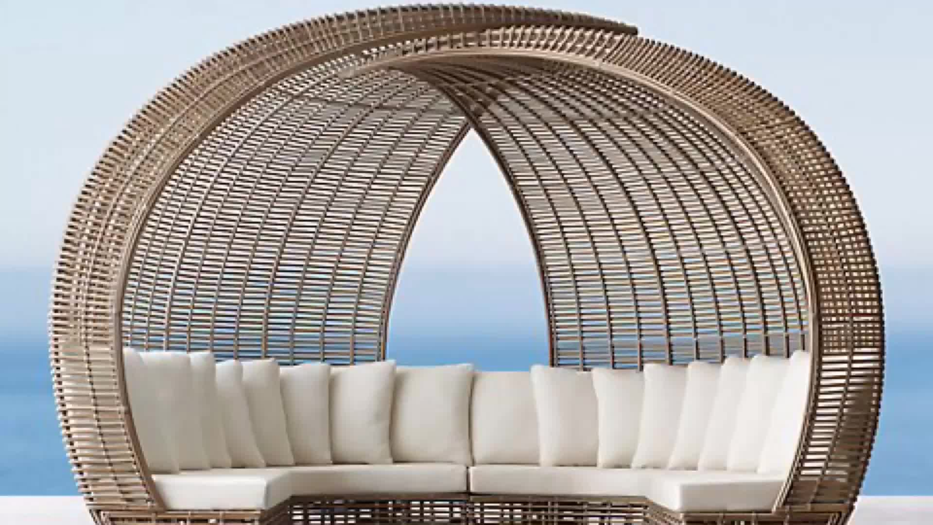 Modern Leisure Waterproof Garden Terrace Woven Rope Table and Chairs Patio Aluminium Dining Outdoor Furniture for Balcony