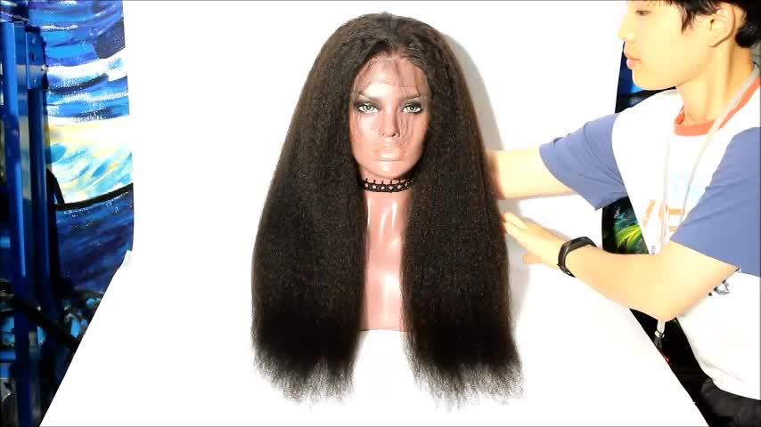 Yvonne 360 Private Label Raw Wigs Brazilian Human Hair Lace Front