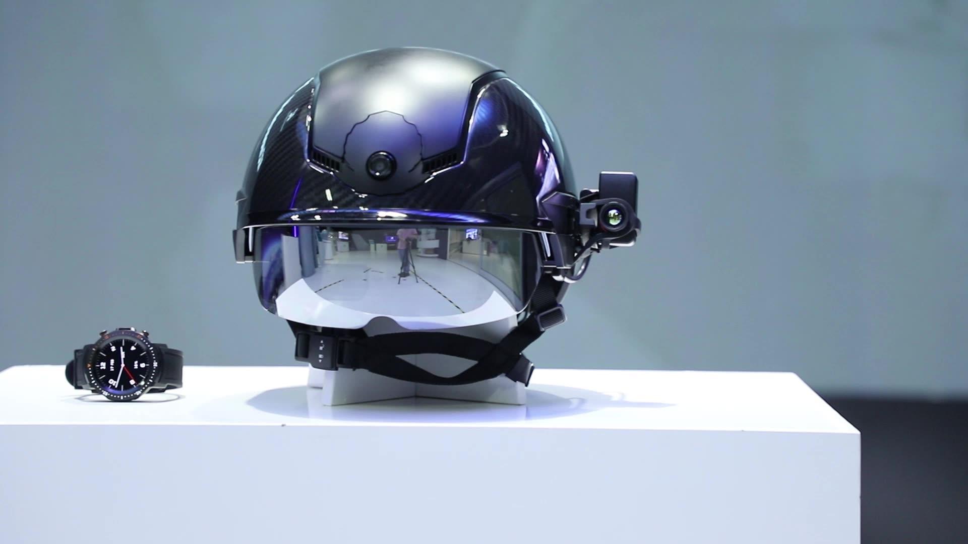 Smart Helmet KC N901 KCwearable Body Temperature Measurement Manufacturer AI Professional