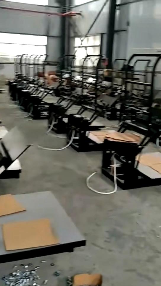 Mais novo de grande formato sublimação máquina da imprensa do calor 80*100cm