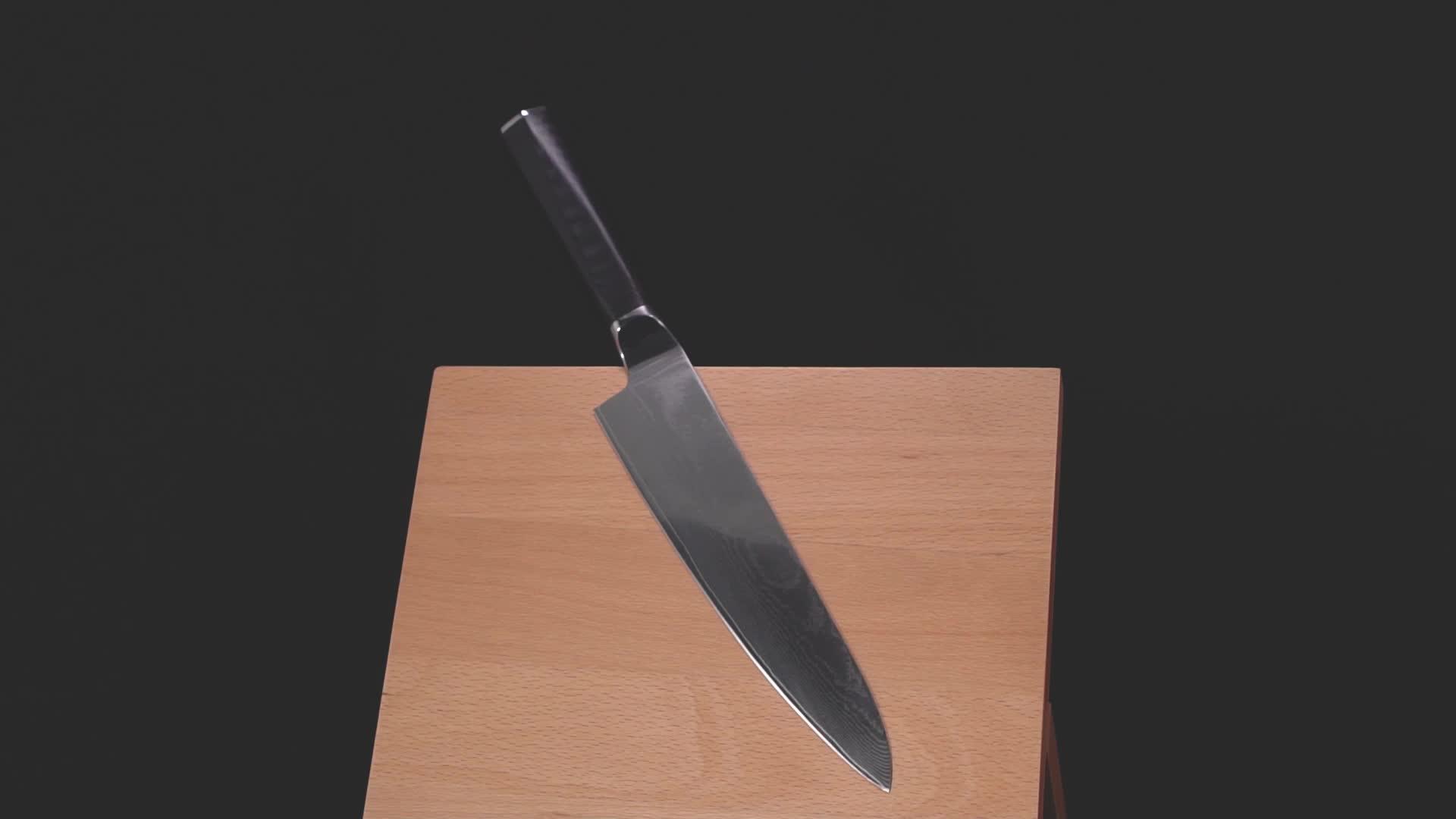 Premium Knife For Kitchen - Japanese Knife Steel - Comfortable Grip - Sharp Edge