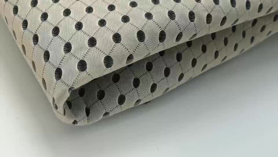HH-005 100 polyester spacer 3d mesh fabric for pillow sports mesh fabric