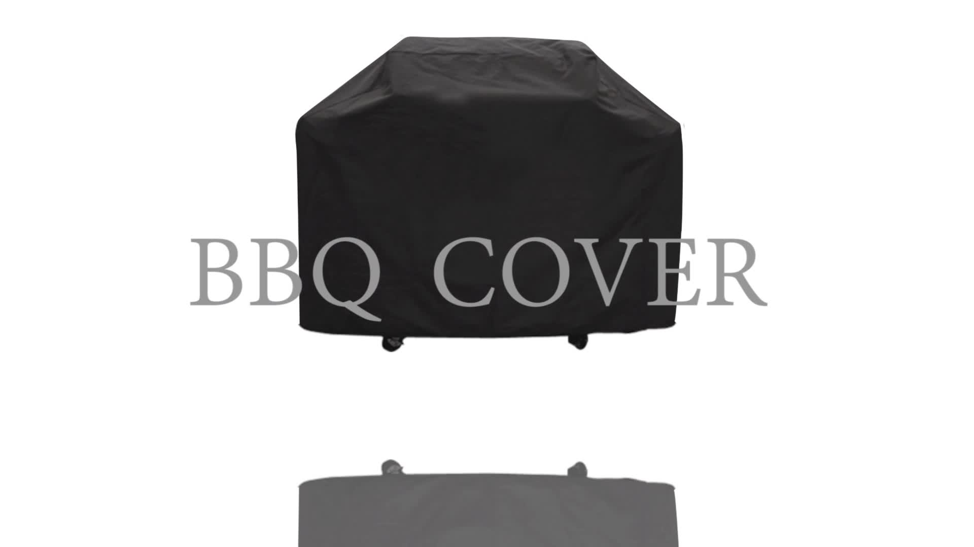 58 pulgadas 600D pesado impermeable anti-UV impermeable cubierta de barbacoa al aire libre barbacoa parrilla cubierta