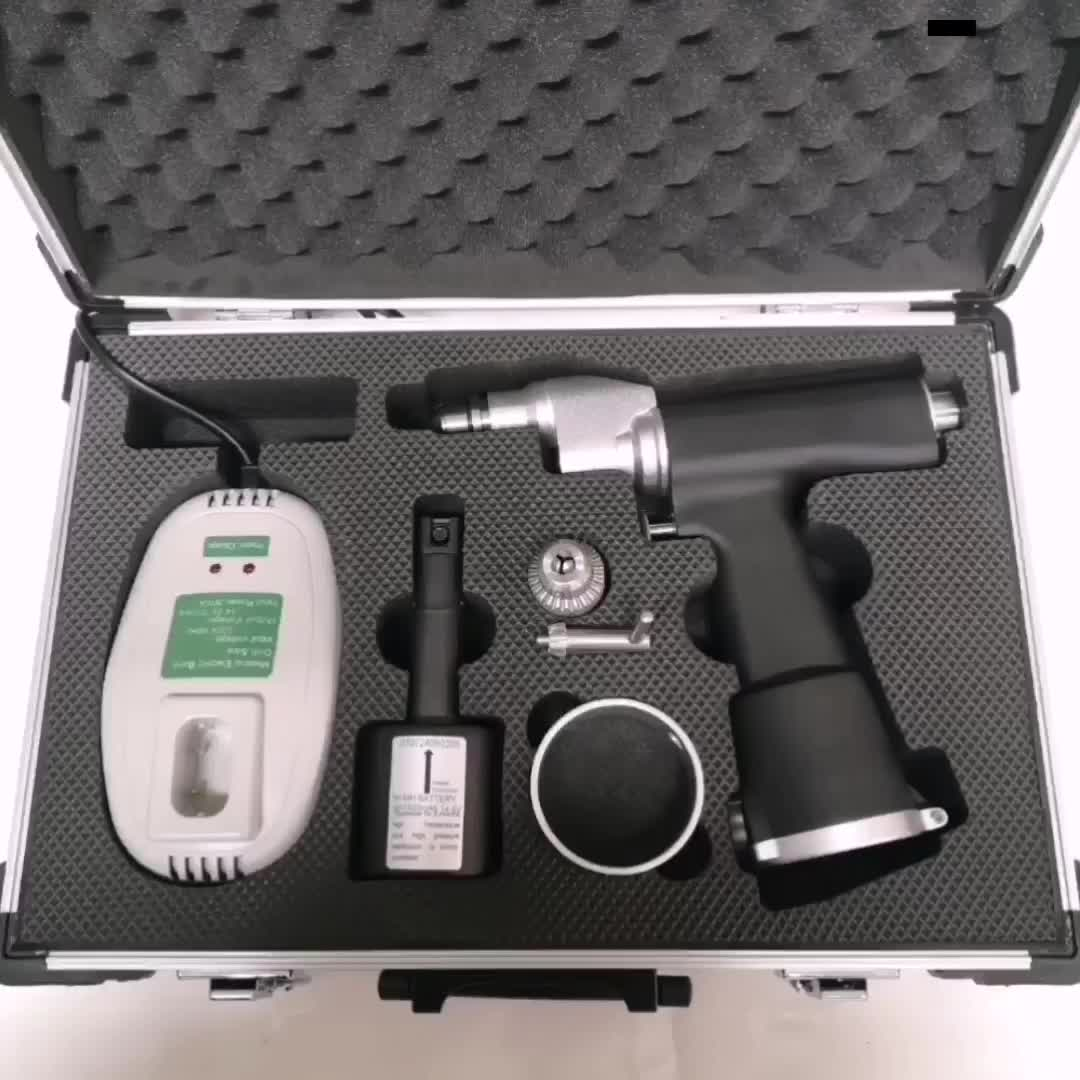 PUSM 605 Medical Surgical Orthopedic Bone Drill Battery Powered Orthopaedic Surgical Drill