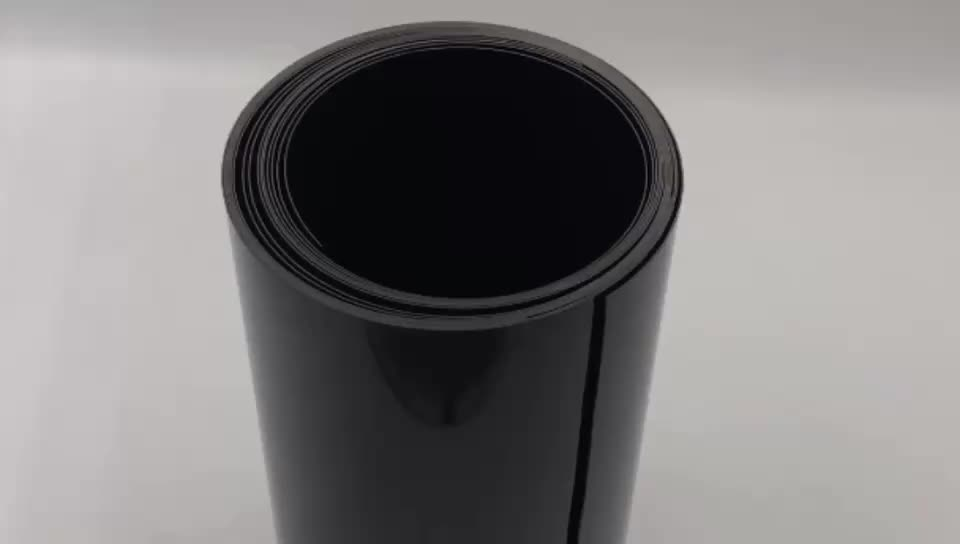 Factory Material 1mm Plastic Conductive Mirror PS Sheet In Rolls