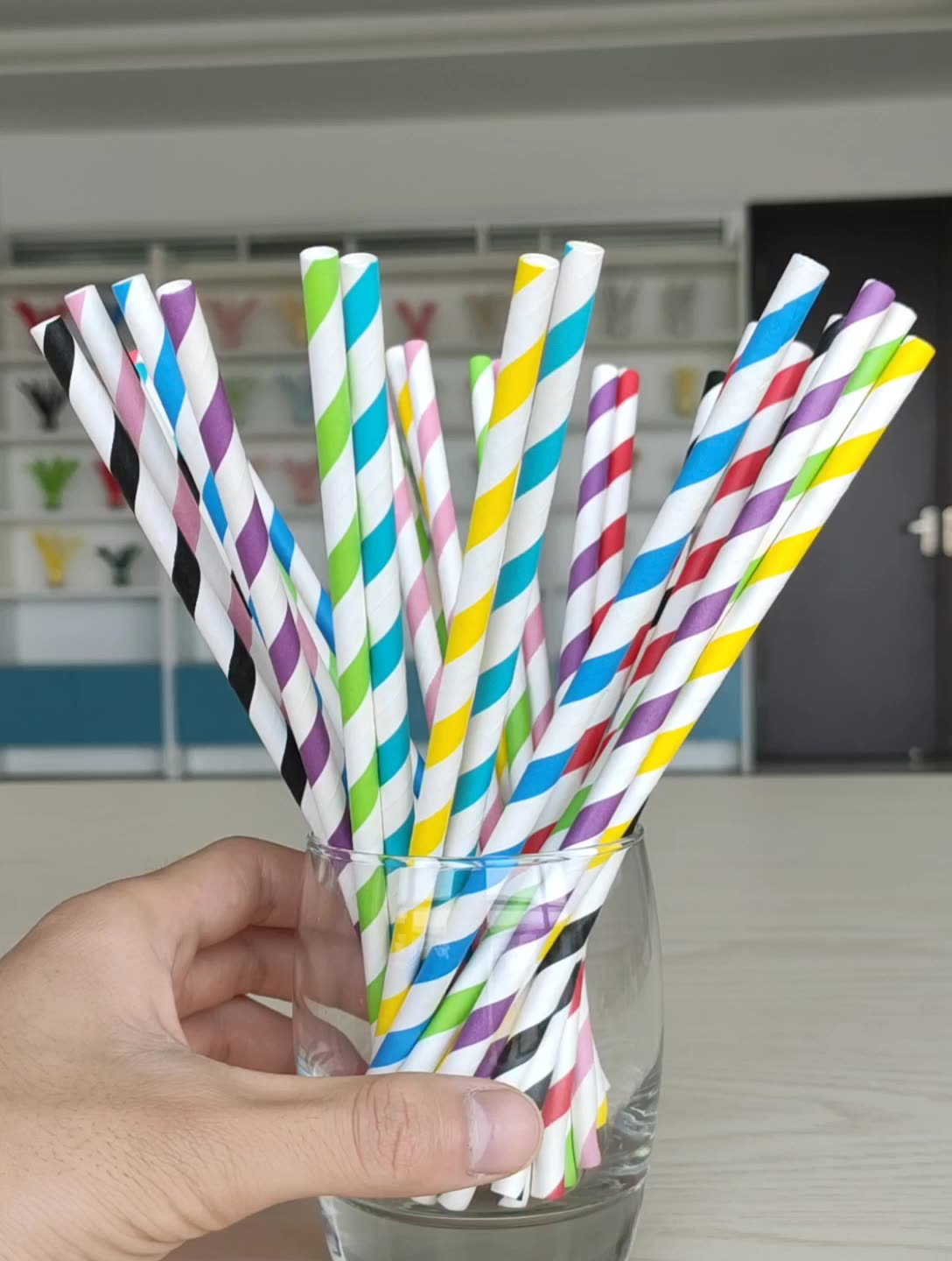 Hot Selling Natural Safe Disposable 100% Biodegradable paper straws