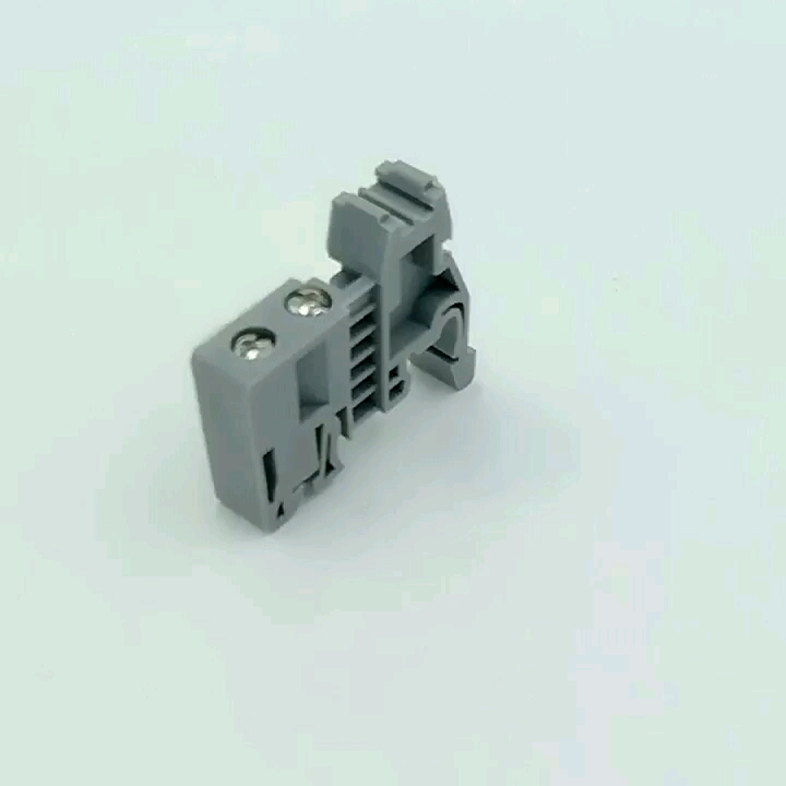 ZHIHUA Hot sale high quality JHZ1-D  din rail ending fixed part Terminal Block Connector