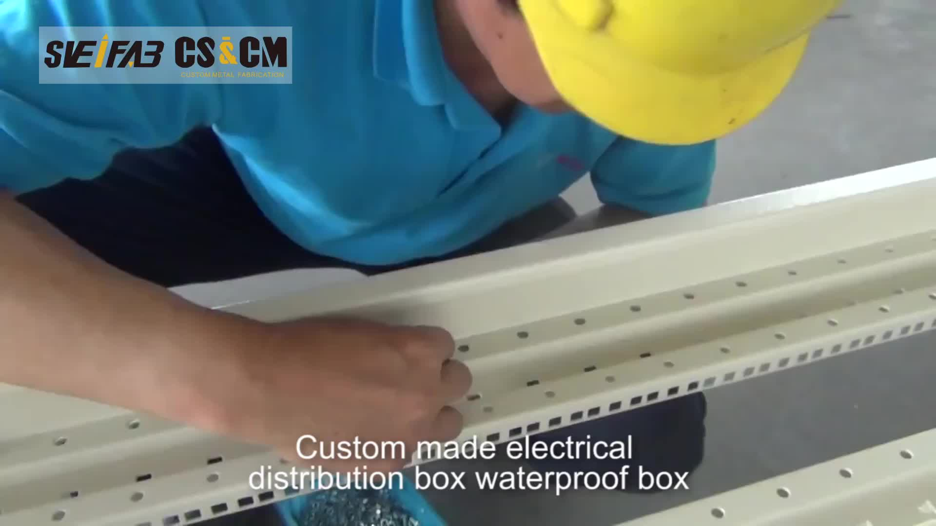 OEM outdoor custom made size metal box electric distribution box LM228