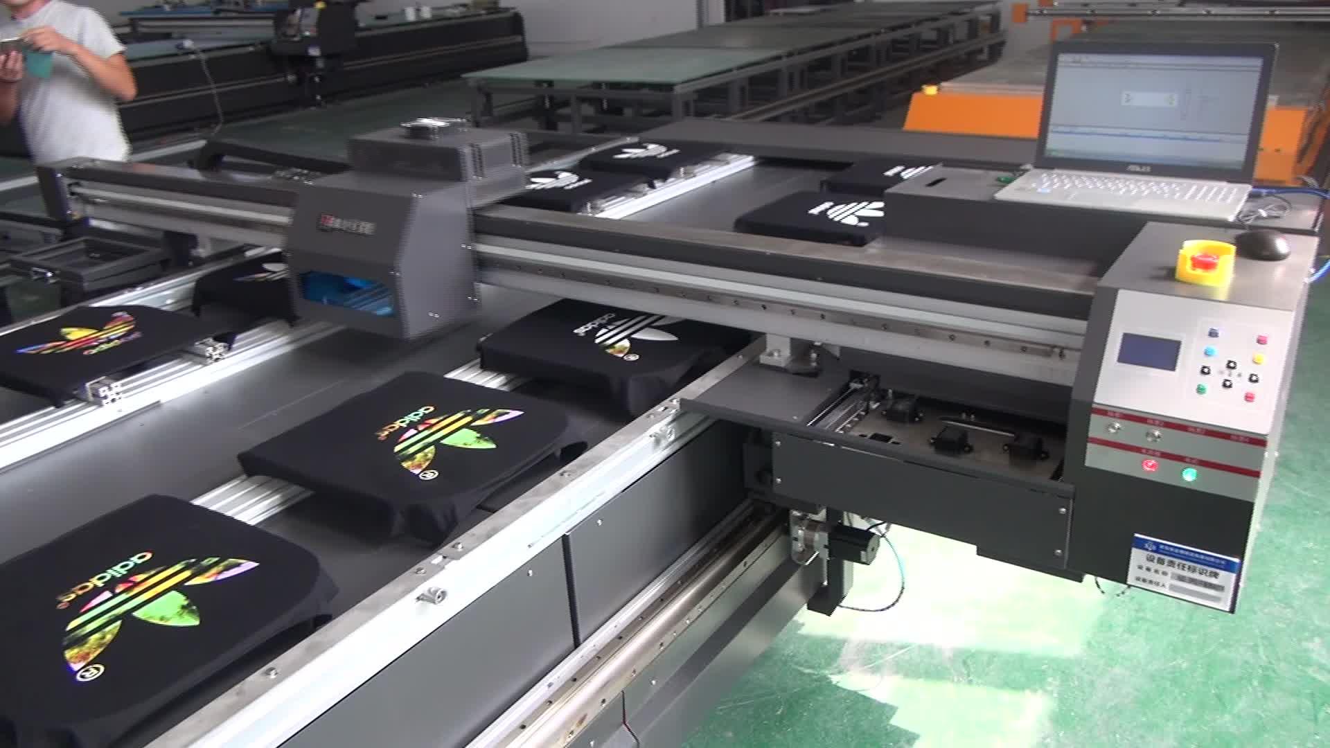 Direct to garment digital inkjet printer