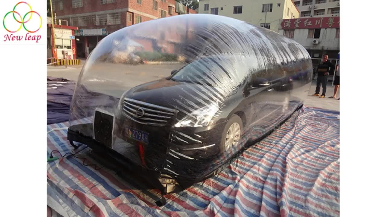 Hot Selling Waterproof Outdoor Inflatable Car Garage Tent/Inflatable Car Cover Tent