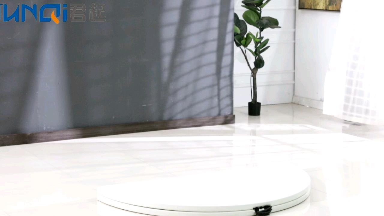 Venta al por mayor barato alquiler hotel restaurante catering HDPE blanco 6ft redondo rectangular plegable de plástico mesa para boda