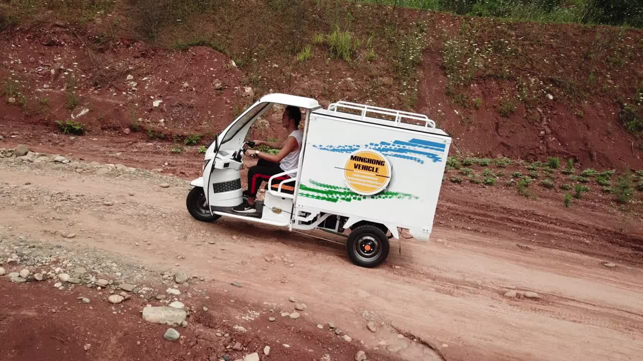 1000W high quality electric cargo adult used tricycle for sale