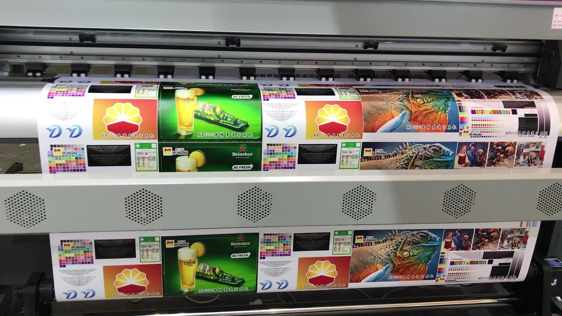 Máquina de impressão de baixo custo de grande formato 1.8m rolo para rolar impressora digital 6ft dx7 xp600 dx5 dgi impressora flex tudo em um