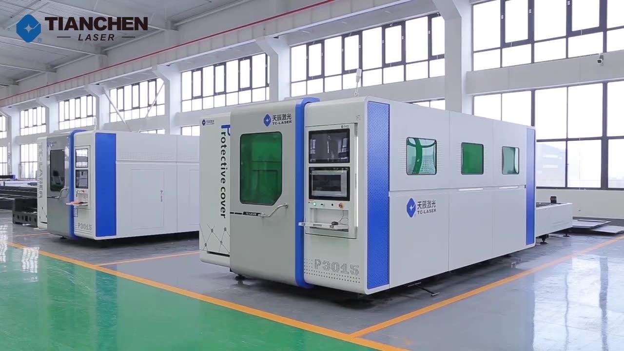 2020 Hot Sale Full Cover IPG RAYCUS Power Source 1000w 1500w 3000w 4000w power 6000 watt Cnc Fiber Laser Cutting Machine