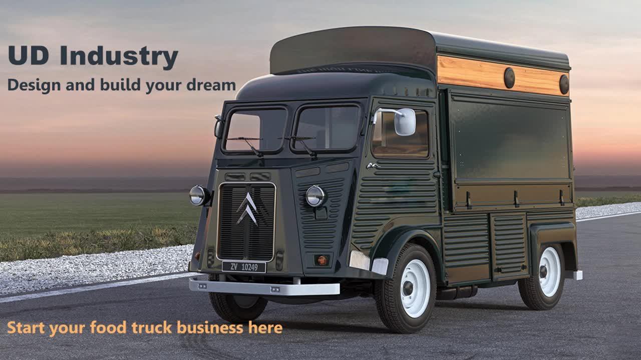 Начните свой собственный бизнес 2020, популярный пищевой автомобиль Citroen