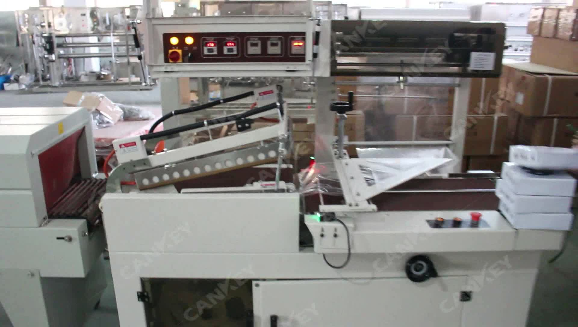 Fully Automatic Cans Shrink Wrapping Machine for Water Bottle