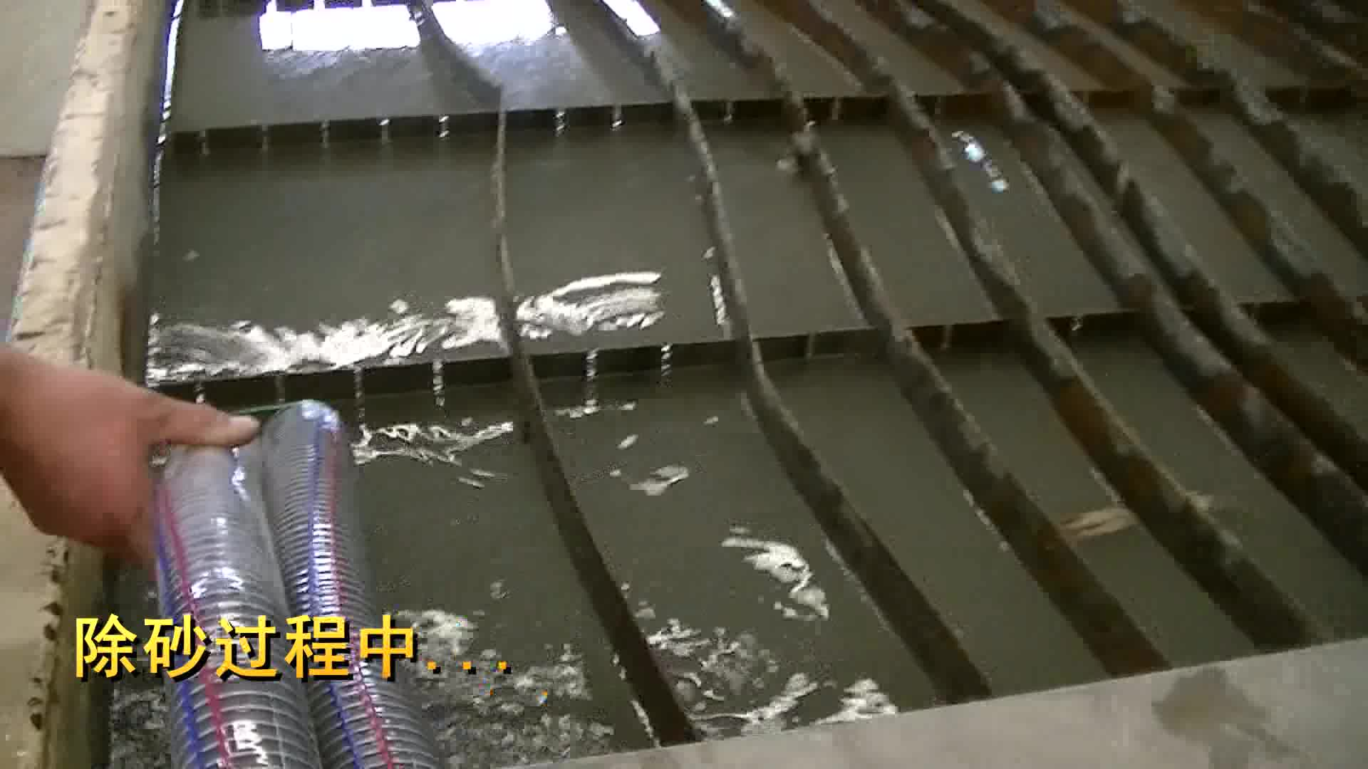 abrasive sand removal system for any brand water jet cutting machine