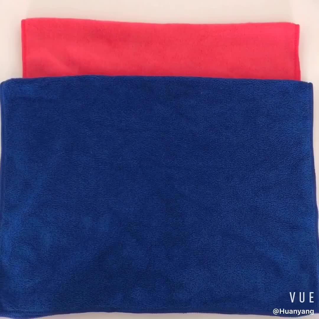 Promoção toalha de microfibra para limpeza do carro/carro de microfibra pano de limpeza/China atacado micro fibra de toalha de lavagem de carros