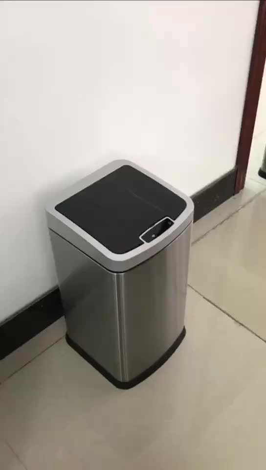 with factory prices novelty plastic built in waste bin