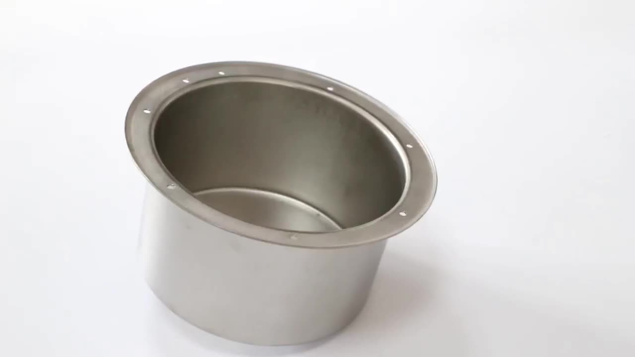 high quality OEM hydraulic pressing stainless steel aluminum cover