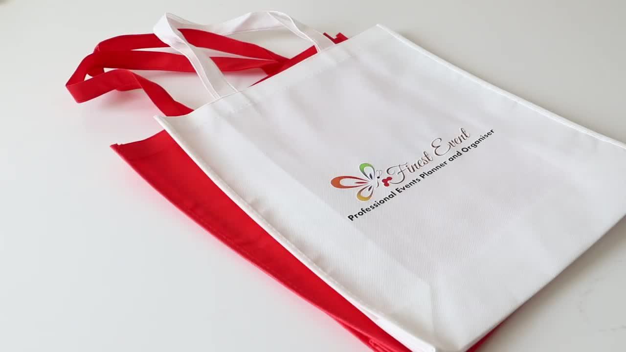 Custom non woven tote shopping  bag