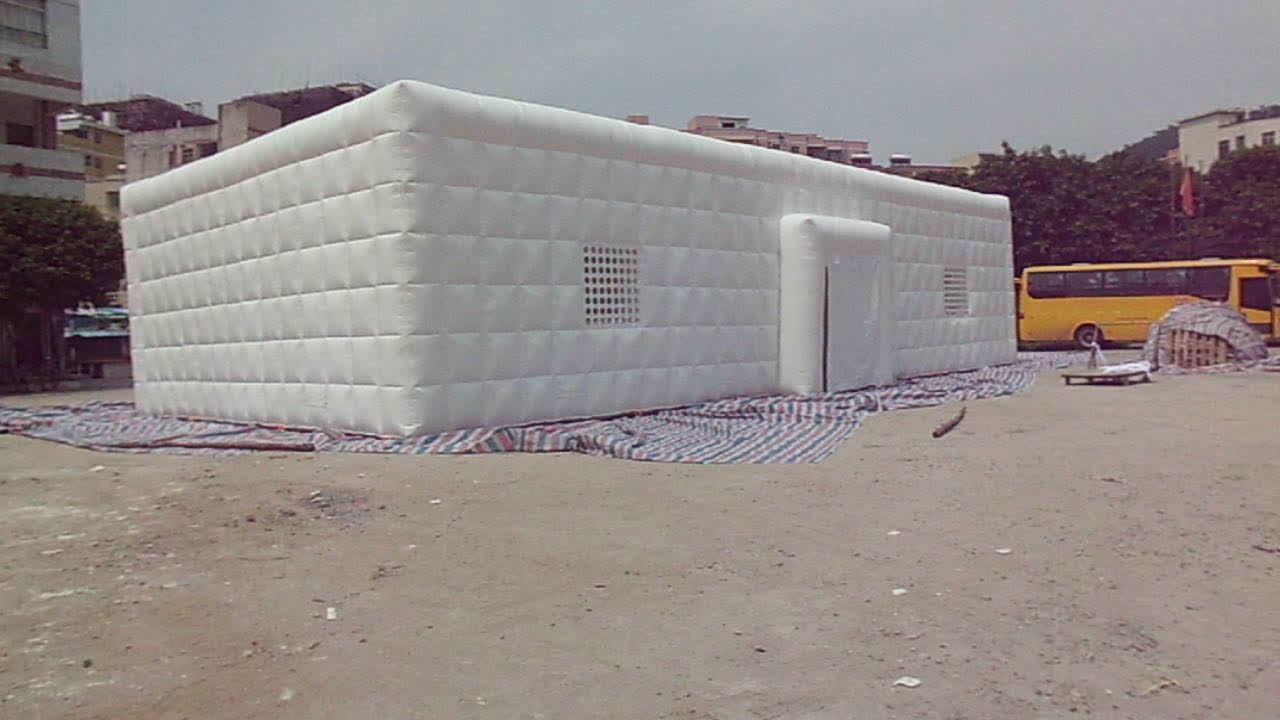 Ar selado 0.55mm PVC inflável bolha tenda à prova d' água durável venda quente construção de ar inflável tenda de casamento para venda