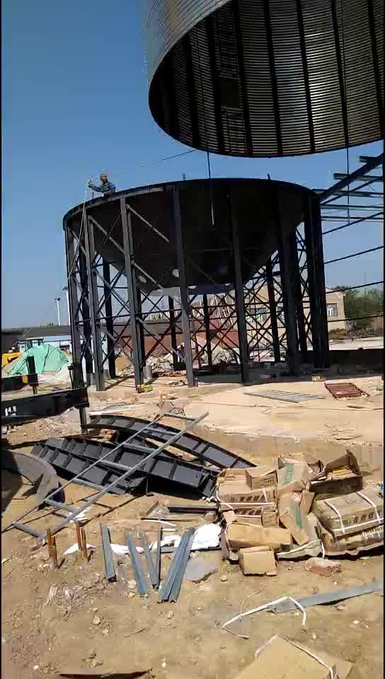 Incredibile valore di 500 ton grano in acciaio silo per il grano di mais