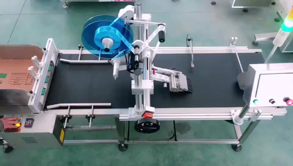 High Quality Pagination Labeling Machine Automatic Portable Flat Box Labeler