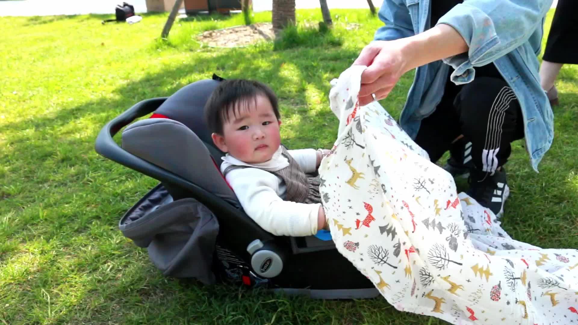 100% Cotton Organic Muslin Fabric Cloth Wraps Baby Blankets