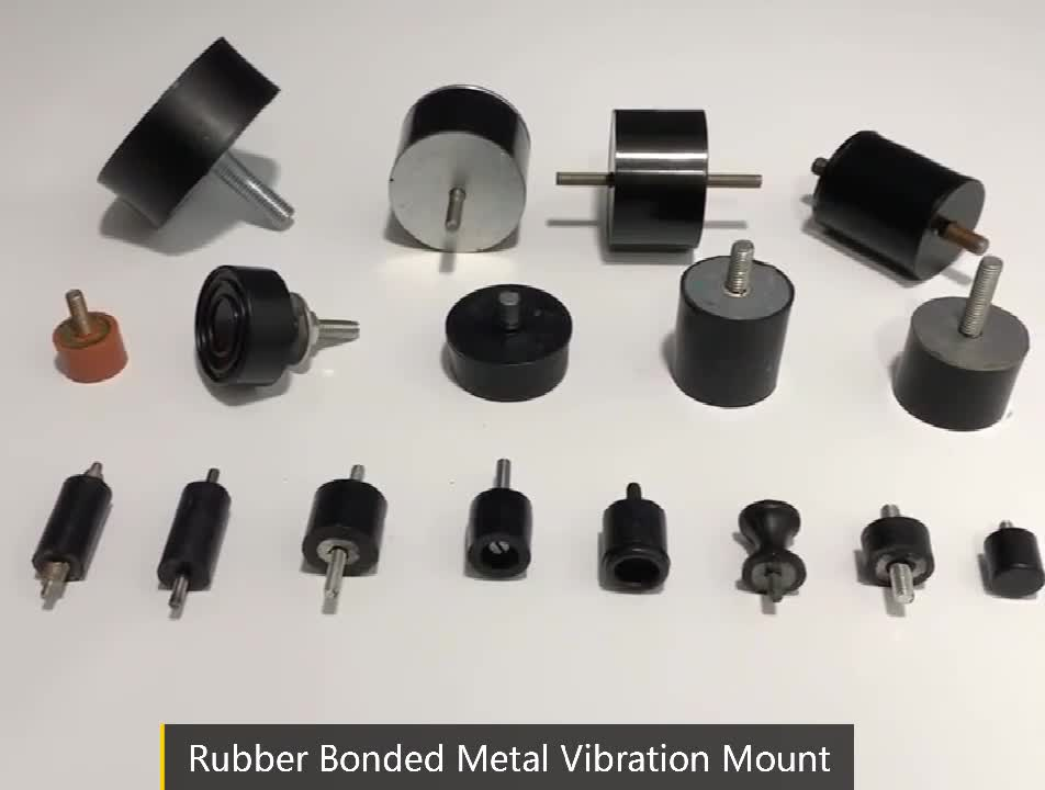 Shock absorber epdm isolation anti vibration rubber mounts