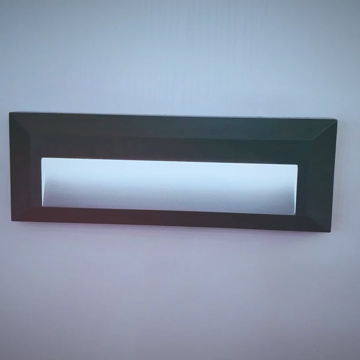 led stair light surface mounted outdoor wall project light
