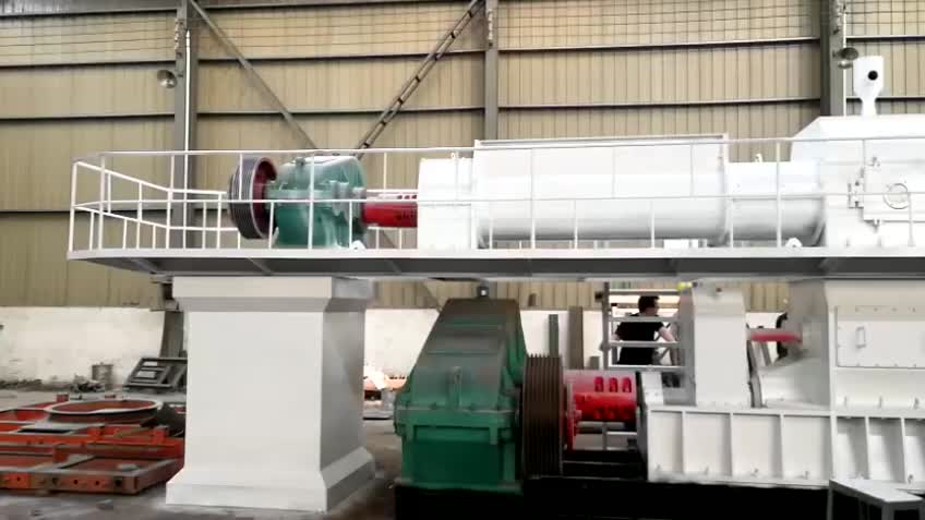 Suppliers yuanhang New Technology Vacuum Extruder Machine For Clay Brick Making
