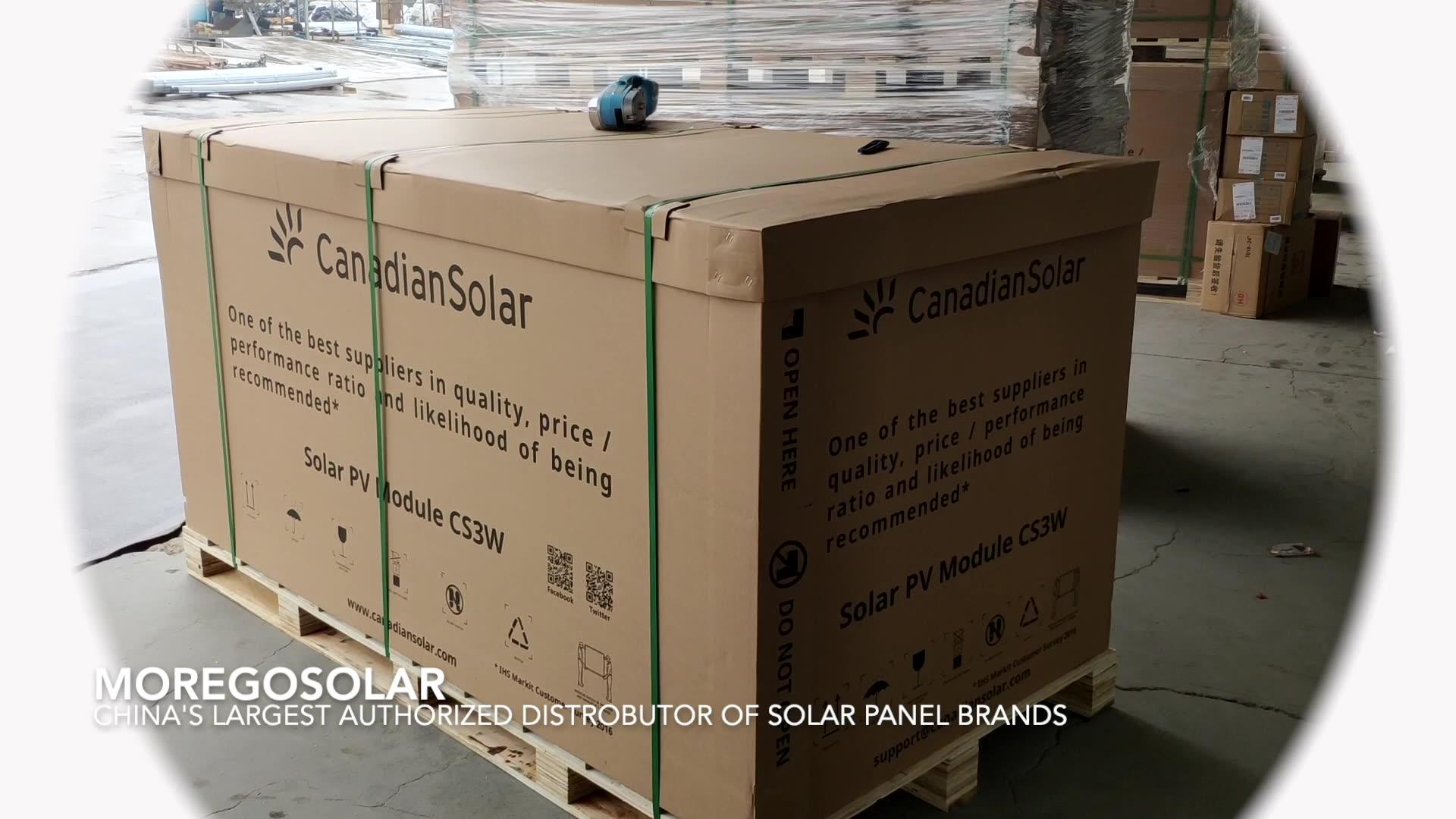 कनाडा सौर पैनल मॉड्यूल 360W 370W 380W 390W 395W 400W 410W 415W 420w 425w 430w 435w पाली सौर पैनल कीमत