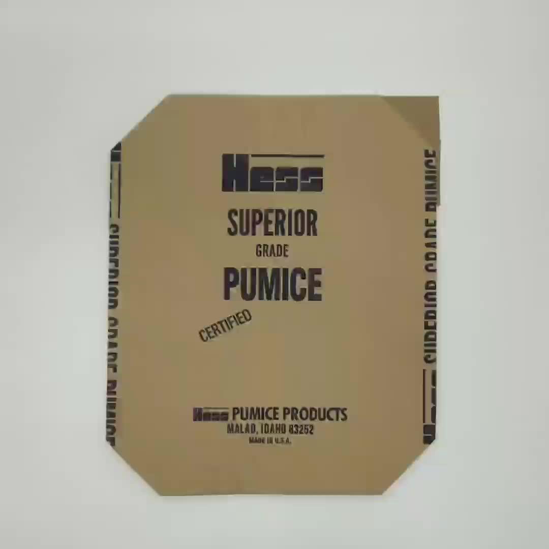 Alta qualidade 25 kg 50 kg válvula de saco de papel com diferentes tipos de dimensões para o saco de cimento