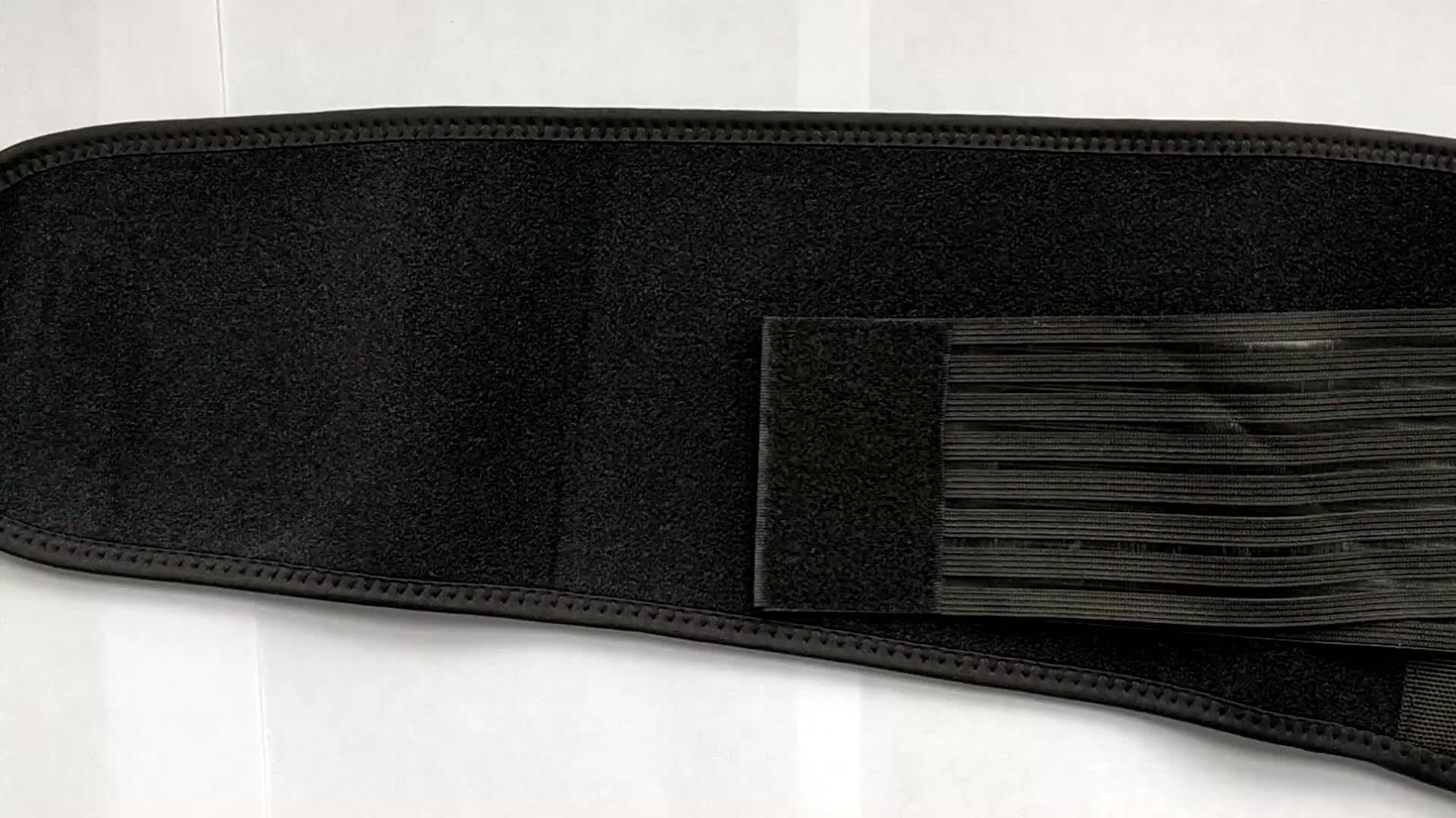 Kwaliteit Toermalijn Therapie Zelf Verwarming Taille Wrap Brace Magnetische Taille Ondersteuning Riem