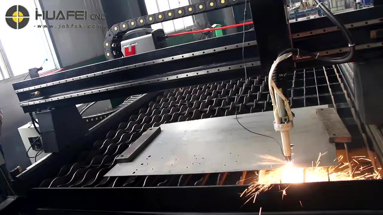 Reasonable price cnc metal sheet plasma flame cutter cutting machine