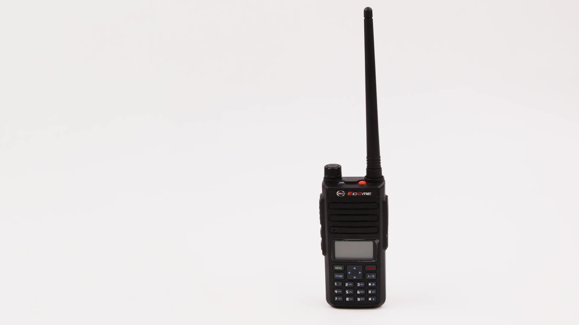 3 km range  encrypted gps optional digital dmr portable two Way Radio Ecome ET-D889