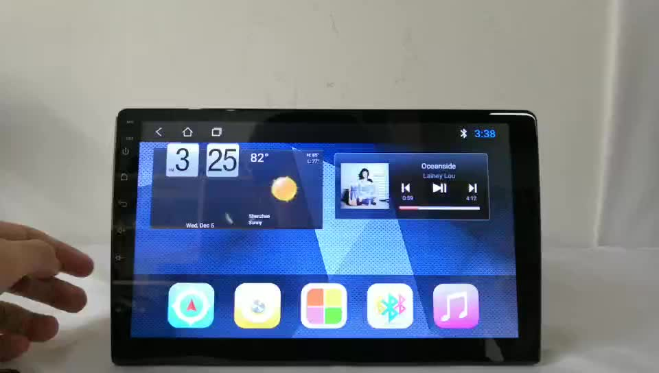 Android Mobil Stereo Radio Mobil untuk 10 Inch Universal Datar Touch Screen GPS