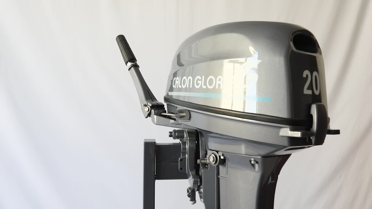 CG MARINE NEW DESIGN EXPAND cylinder 18HP 20HP outboard motor 2 stroke boat engine 326cc from Tohas 296cc