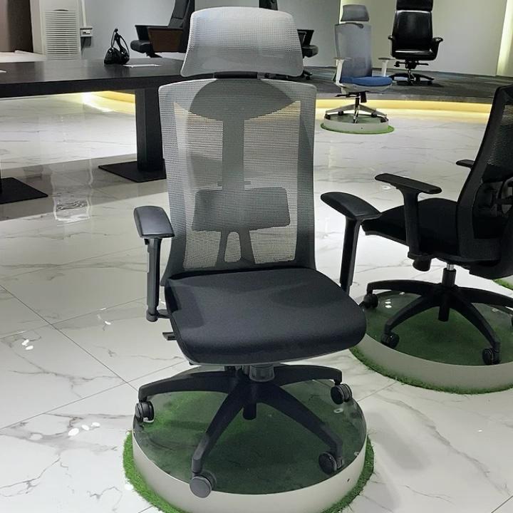 3D adjustable armrest Sedia da ufficio Ergonomic Office Chair With Headrest