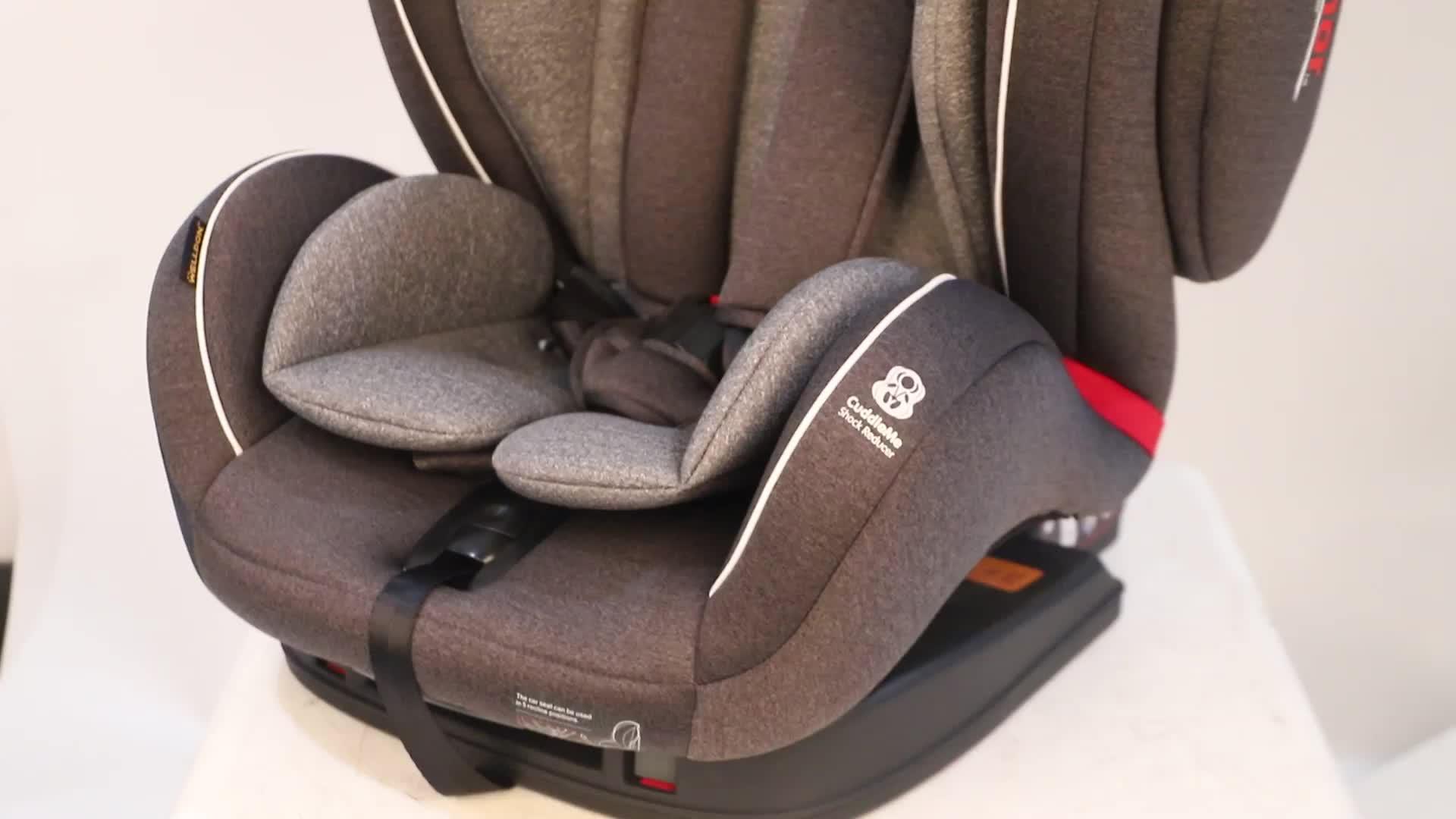 JOVIKIDS 2020 China Manufacturer portable adjustable foldable soft plush cushion carseat car child baby safety car seat