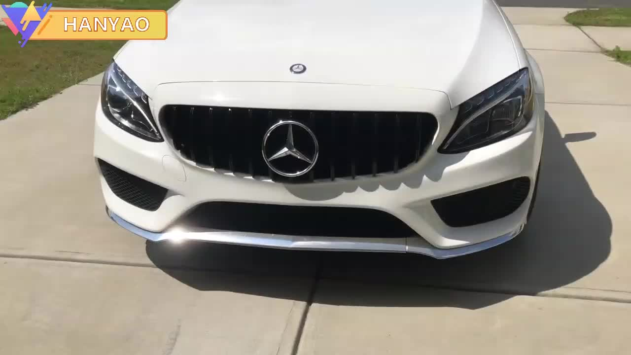 High Demand Ventilation ABS Black Grille Hot Sale Auto Body Parts For Benz A-Class