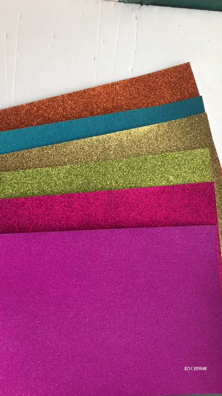 Raco A4 glitter paper and cardboard glitter cardstock cheap price 250gsm paperboard