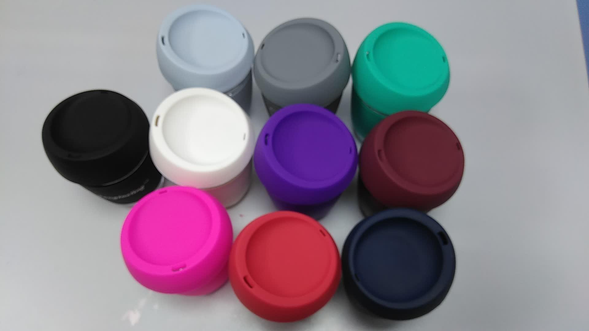 Mẫu miễn phí Bán Buôn Tùy Chỉnh Biểu Tượng Tái Sử Dụng Kính Cách Nhiệt Cà Phê Cup Tea Mug Với Tay Áo Silicone