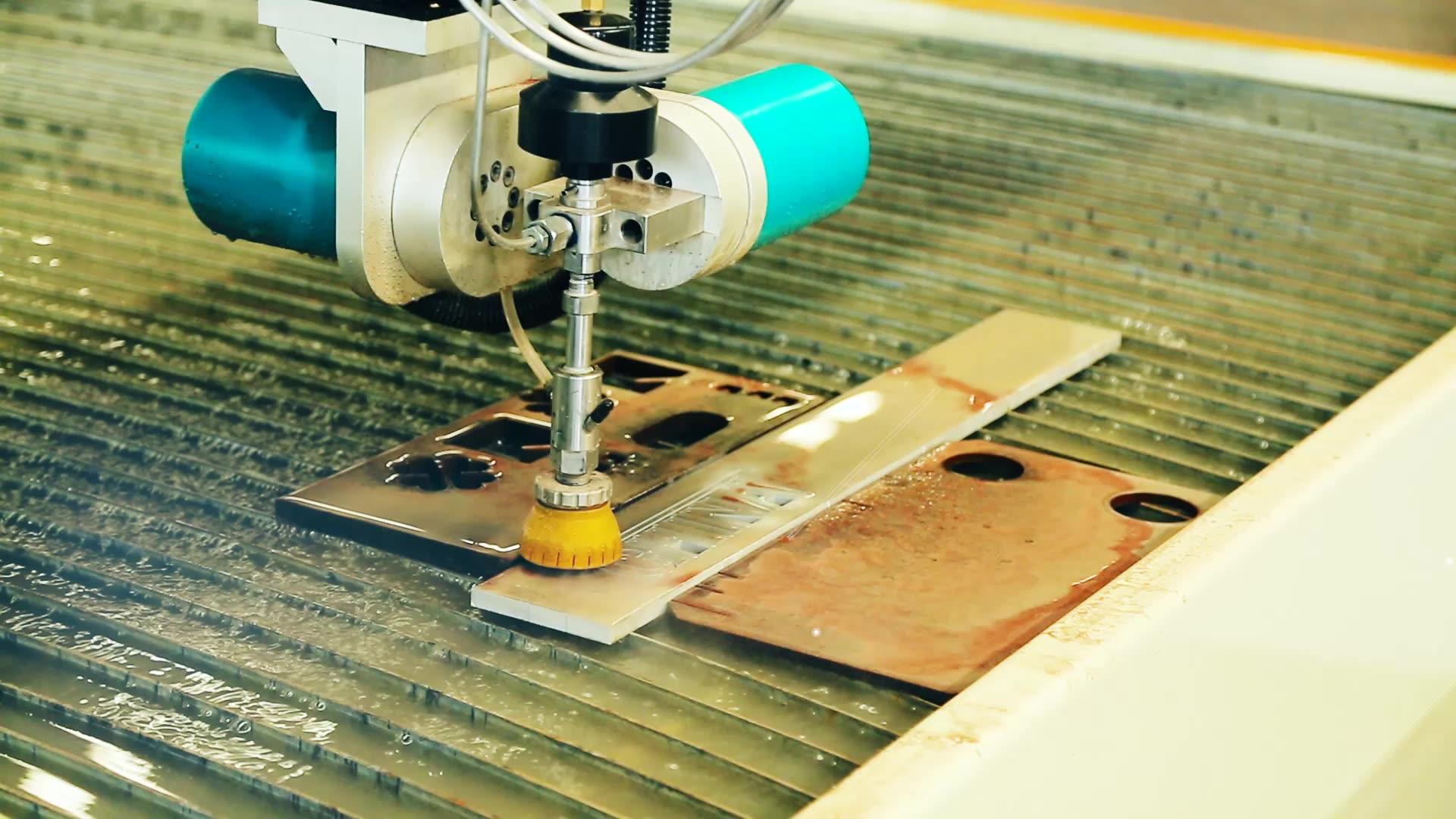1515  Small Abrasive Waterjet Machining Cutting Machine