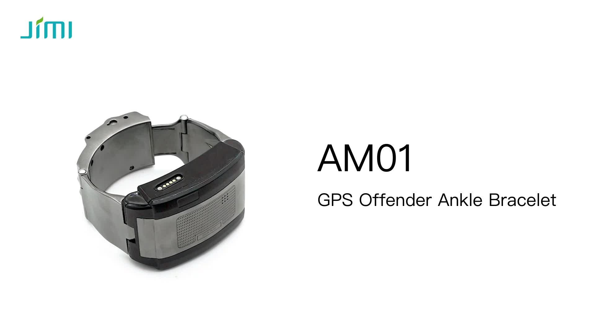 JIMI eletrônico GSM gps prisão criminal ankle bracelet