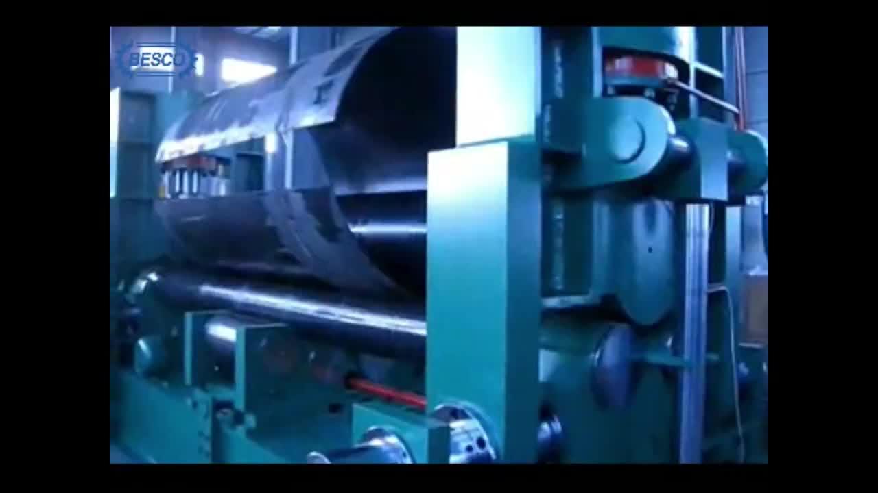High Quality Cone Rolling Machine Steel Plate Rolling Machine